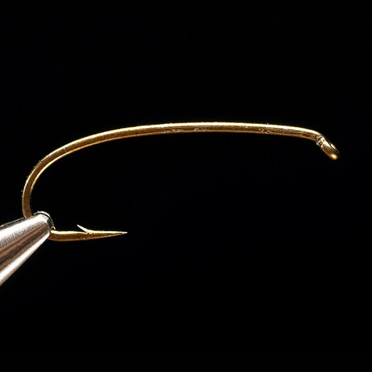 1760- 2X Heavy Curved Nymph Hook 100 pk - Click Image to Close
