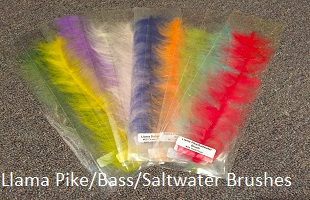 Llama Brush for Pike/Saltwater