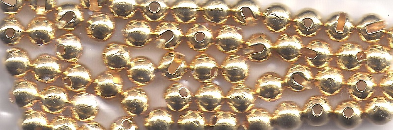 Slotted Tungsten Beads - 20 Pack