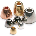 Brass Cone Heads-50 Pack