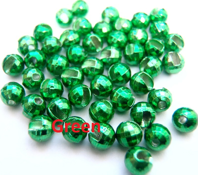 Entice Slotted Faceted Tungsten Beads - 10 Pack