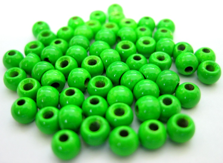 Tungsten Beads - Painted Colors - 25 Pack