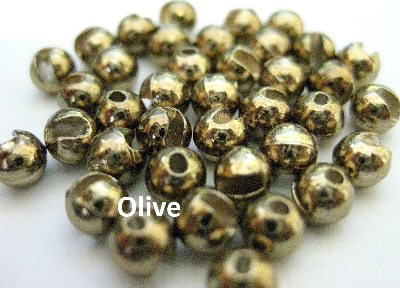 Entice Slotted Tungsten Beads - 10 Pack - Click Image to Close
