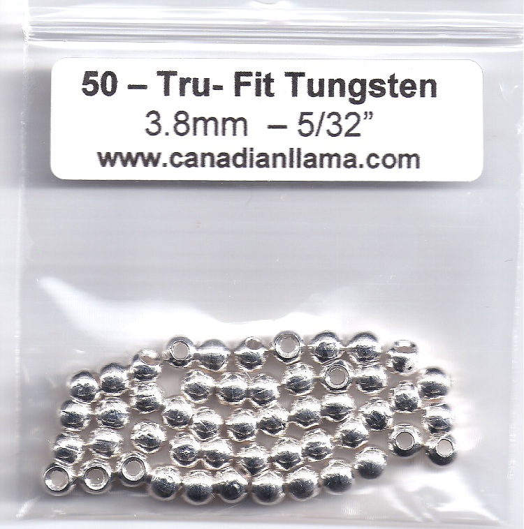 Tungsten Beads - 50 Pack